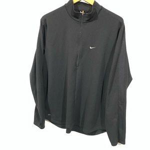 Nike dri-fit athletic quarter zip sweatshirt